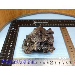 Calcite noire brute de 435gr du Mexique