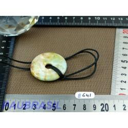 Pi Donut en Amazonite de 4cm