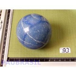 Sphère en Quartz Bleu - Aventurine bleue 67mm diamètre 430gr