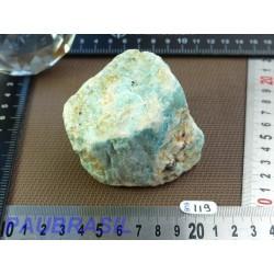 Amazonite en Pierre brute 348gr de Madagascar