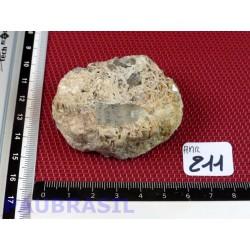 Aigue Marine qualité gemme et mica du Pakistan de 109g