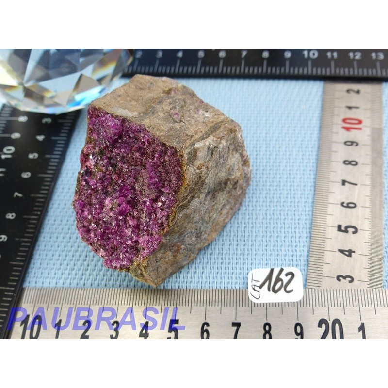 Cobaltocalcite en Pierre Brute Q Extra 196g