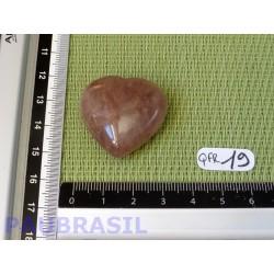 Coeur en Quartz Fraise 19gr
