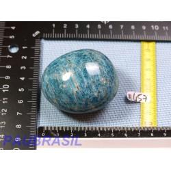 Apatite Bleue en galet poli jumbo 177g