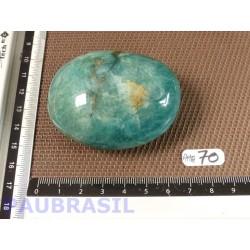 Amazonite de Madagascar Q Extra en galet poli 130g