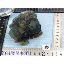 Fluorite vert bouteille Namibie Q Extra 375g