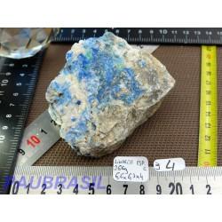 Linarite Espagne en pierre brute 266g rare